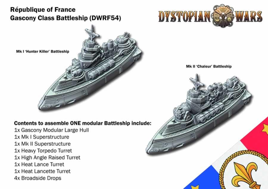 Gascony Class Battleship