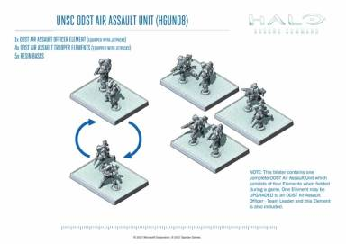 UNSC ODST Air Assault Unit