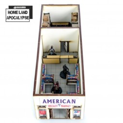 Homeland Apocalypse: Twin Peaks Shopping Mall Shop #1