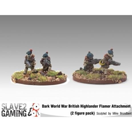 """Scottish Highlander """"Black Watch"""" Flamer Attachment"""