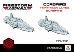 Corsairs Privateer Class Gunship