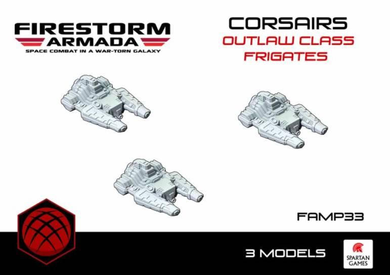 Corsairs Outlaw Class Frigate