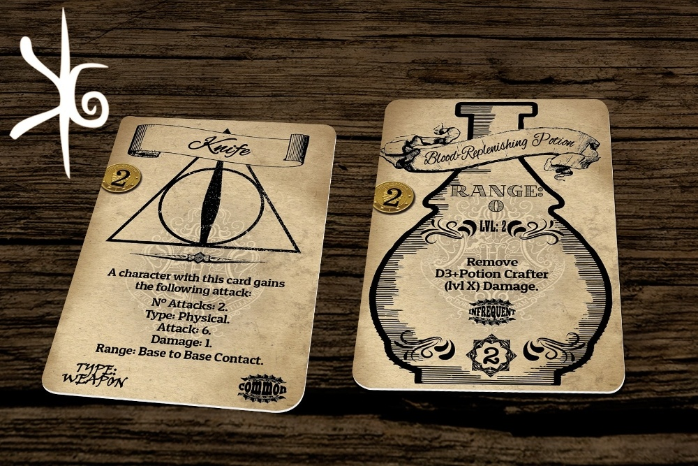 Harry Potter Game Card