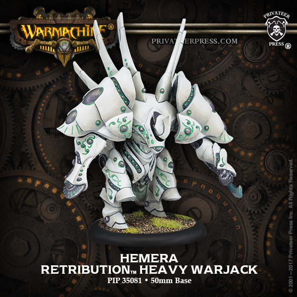 Hemera - Retribution of Scyrah Heavy Warjack