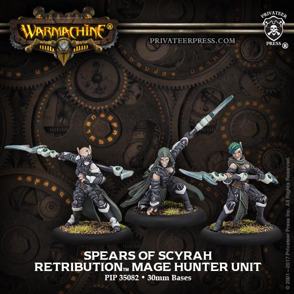Spears of Scyrah - Retribution of Scyrah Unit