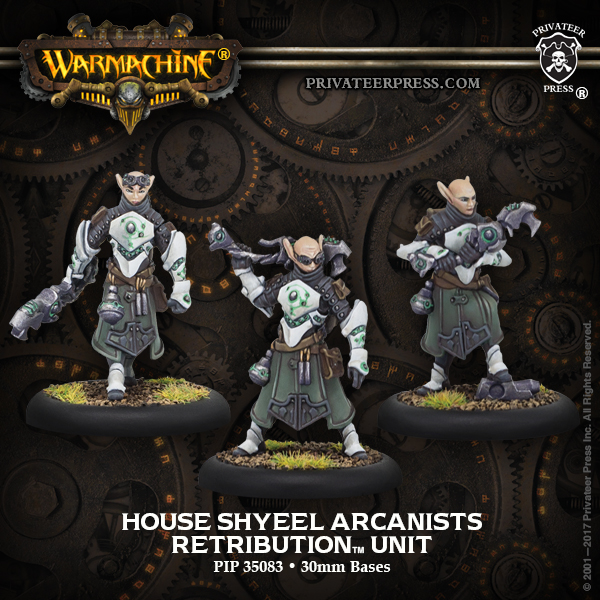 House Shyeel Arcanists - Retribution of Scyrah Unit