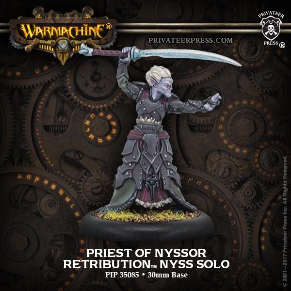 Priest of Nyssor - Retribution of Scyrah Solo