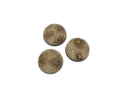 Wasteland Bases Round 50mm